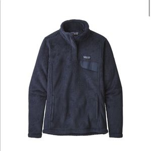 Patagonia new navy re-tool snap-t pullover
